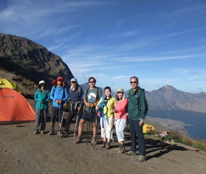 Rinjani Trekking 3D2N Summit via Senaru